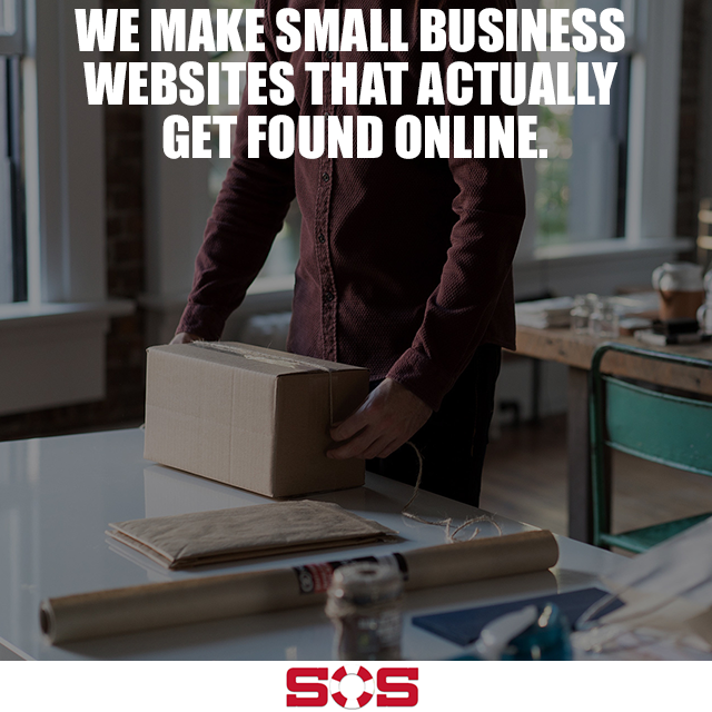 WE MAKE SMALL BUSINESS WEBSITES THAT ACTUALLY GET FOUND ONLINE